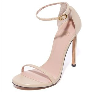 Stuart Weitzman Nudist 110mm Nude Sandals Heels
